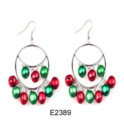 Promotional Christmas Earring / Jingling Bell Earring / Christmas Bell Earring