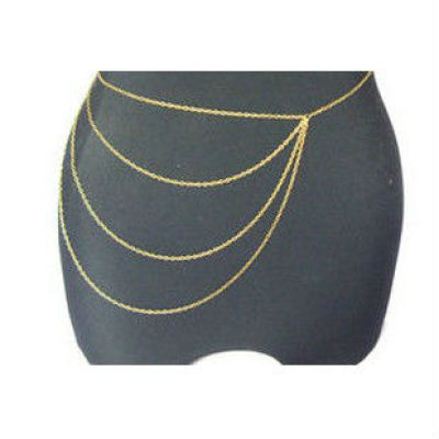 Wholesale Gold Waist Body Chain Jewelry for Sexy Women