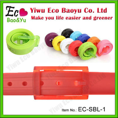 Colorful PVC Belt In Stock