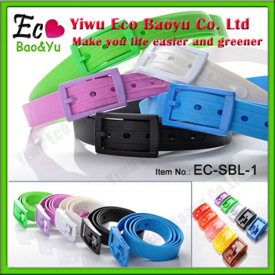 2013 Hot Selling Summer Silicone Belt