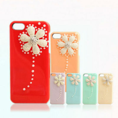 Pearl Phone Case Flower Phone Case Cell Phone Case
