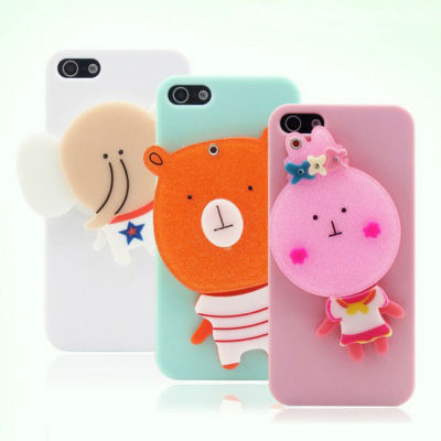 Cartoon Mirror Phone Case