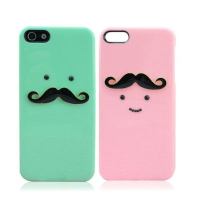 Couple Mustache Phone Case