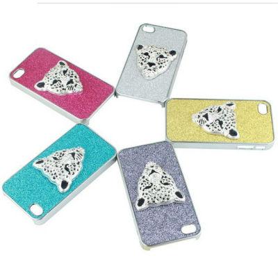 Animal Phone Case Leopard Phone Cover Crystal Phone Case In Bulk