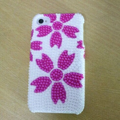 DIY Phone Case Pearl Phone Case Cell Phone Case For Phone 4/5