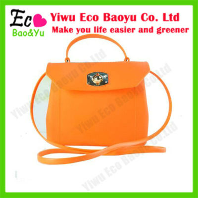 Fashion Silicon Jelly Candy Bag