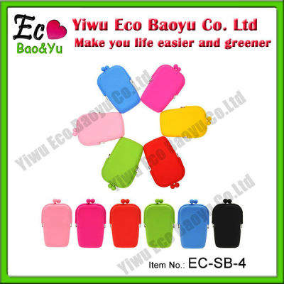 Eco-friendly Silicone Cell Phone Bags