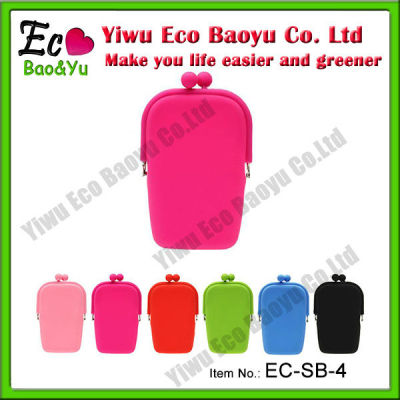 Colorful Silicone Mobile Phone Bags & Cases