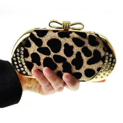 Leopard Party Evening Bag In Bulk