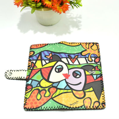 Christmas Gift Wallet - Animal Leather Wallet Wholesale Kiss Fish Leather Wallet