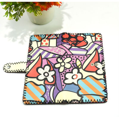 Cartoon Wallet Painted Leather Wallet Wholesale Leather Wallet