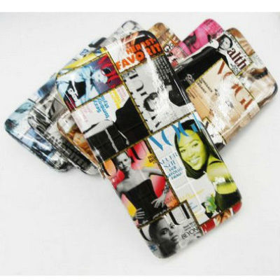 Ladies Magazine Clutch Purse in stock