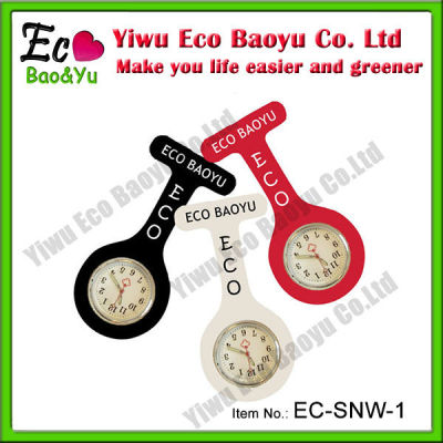 Customize Personalized Silicone Nurse Fob Watch