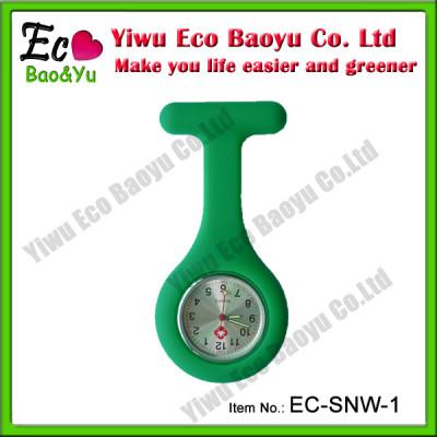 Food Grade Silicone Nurse Fob Watch Custom Nurse Watch