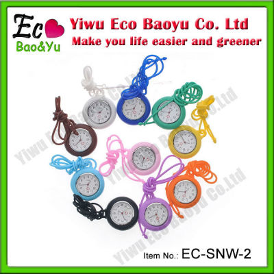 Newest Style Cute Silicone Fob Watch