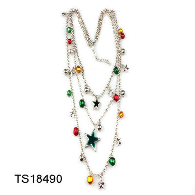 Christmas Necklace Jewelry / Chrsitmas Bell Necklace