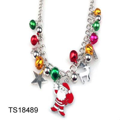 Father Christmas Necklace / Chrsitmas Santa Claus Necklace