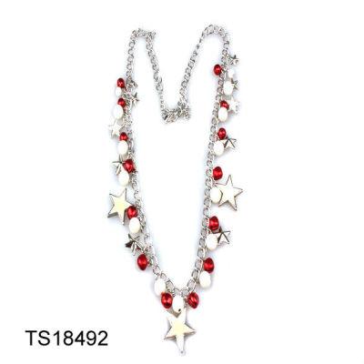 Chrsitmas Bead Necklace / Chrsitmas Necklace Jewelry