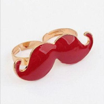 Handlebar Mustache Ring Mustache Jewelry