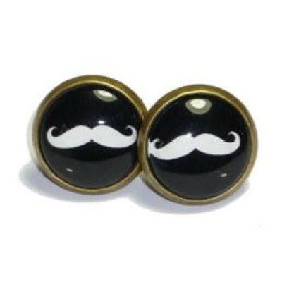 DIY Hadmade Mustache Accessories Mustache Jewelry Mustache Earring - Retro Vintage Style