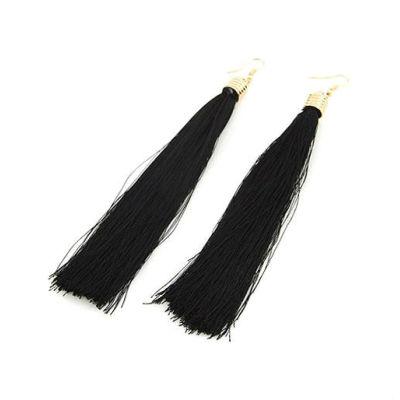 2013 Hot sale Tassel Fringe Hoop Earring Jewelry in Bulk