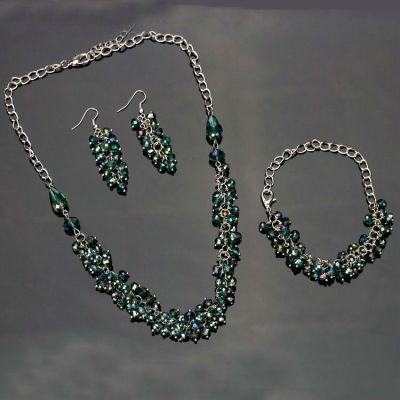 Custom Handmade Crystal Jewelry Set