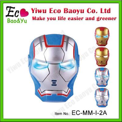 Film Mask Halloween LED Mask Iron Man Mask for Masked Ball