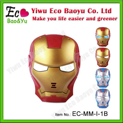 Kid PVC Halloween Film Mask Iron Man Maks