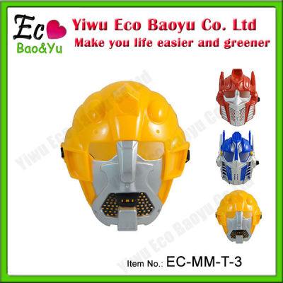 Wholesale Cheap PVC Transformers Bumblebee Mask
