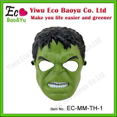 Popular Film Mask for Halloween Night The Hulk Mask in Stock