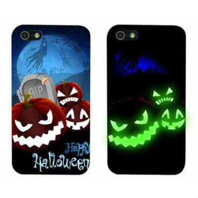LUMINOUS Halloween Phone Cover Hallowmas Phone Cover Pumpkin Phone Cover For Phone 5