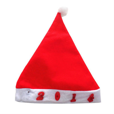 Happy Christmas - Welcome 2014 Light Up Christmas Hat with Figure Shape Light Decoration