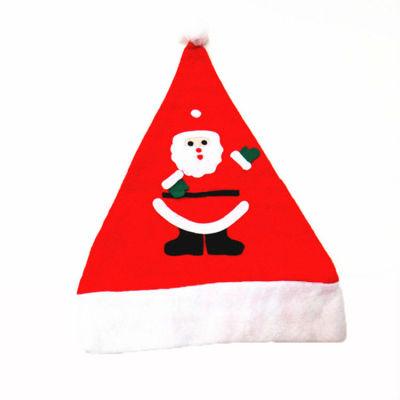 Wholsale Christmas Santa Hats / Applique Christmas Hat