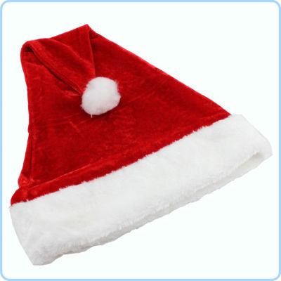 High Quality Plush Christmas Santa Hat