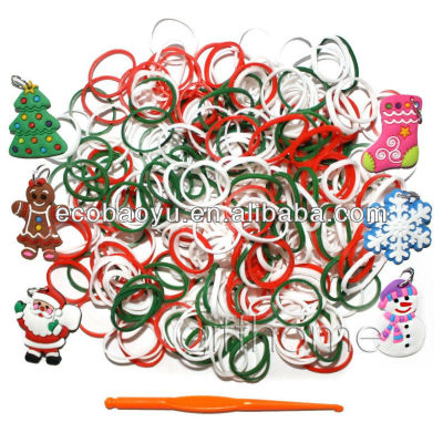 2014 Christmas Gift Loom Rubber Bands