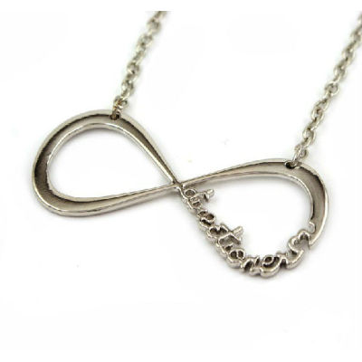 1D Pendant Necklace One Direction Infinity Pendant Necklace
