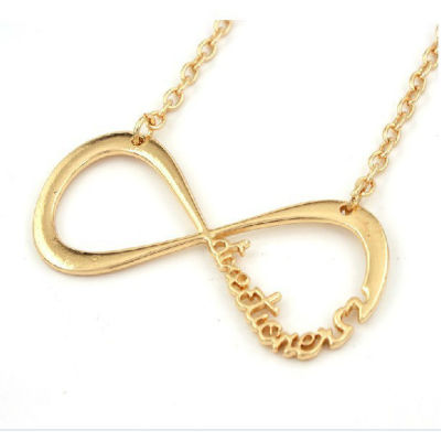 One Direction Infinity Pendant Chain 1D Necklace