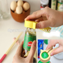 Lovely silicone yellow duck bottle opener
