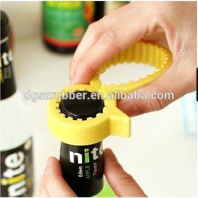 silicone rubber bottle opener