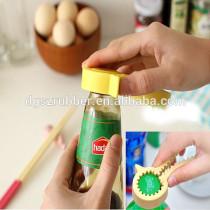 silicone yellow duck wine bottle opener