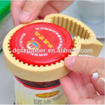 silicone yellow duck beer bottle opener