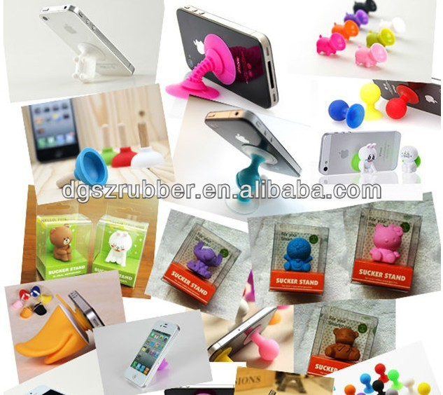 mode for cell mobile phone case,Co<em></em>nvenient Silicone Cell Phone Holder/stand