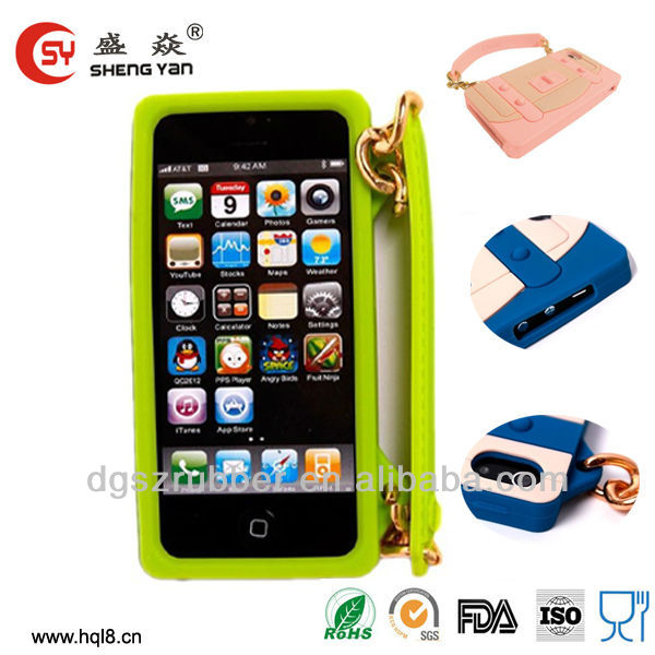 2013 hot sell latest design silicone mobile phone cover