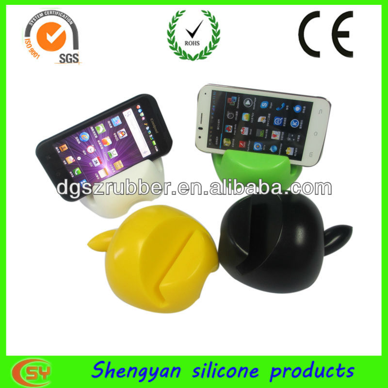 Apple shaped silicone phone holder for Ipad and all kinds of phone