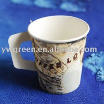 high quality handle paper cup