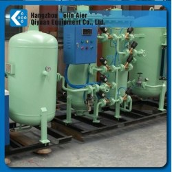 PSA Oxygen plant with compressed air dryer