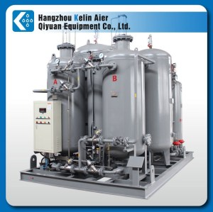 oxygen gas generator plant with cylinder filling system