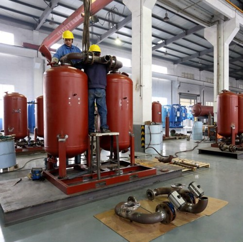 oxygen gas cylinder filling plant with frigerated air dryer