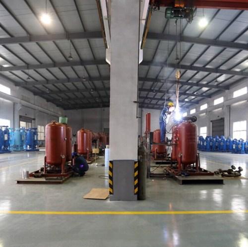 Oxygen Production Plant for Fish Farm