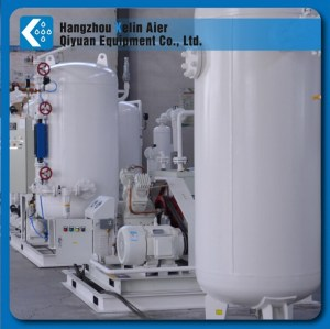 oxygen generator system with air compressor